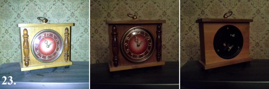 """24) Настенные часы """"Молния"""""""