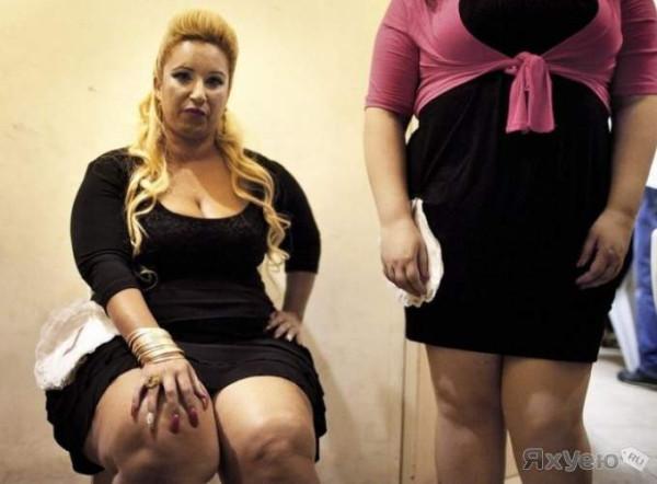 Частное фото толстушек