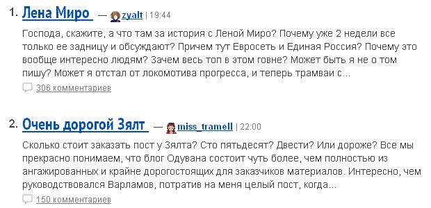 Попаболь рунета