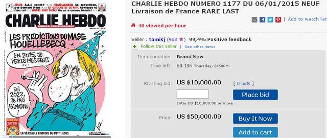 Charlie Hebdo: Кому-то горе, а для кого-то – просто бизнес