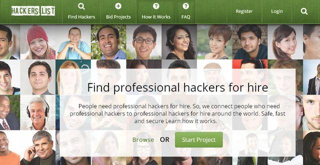 HackersList.com – Хакер по найму
