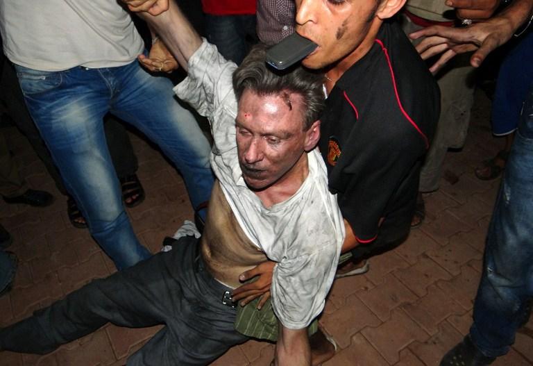 Стивенс, Кристофер, убитый проамериканскими боевиками в Бенгази