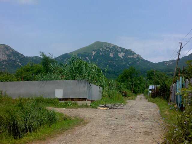 Гора Бештау вид у подножия со стороны 5горска