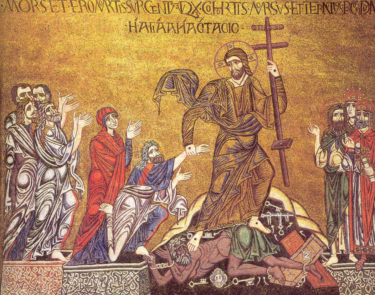 Христос выводит души из ада