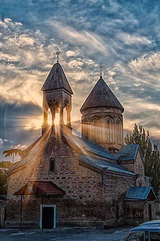 Церковь Рождества Богородицы в Цхинвале, Южная Осетия