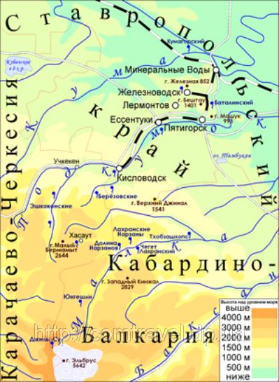 Россия, регион Кавказских Минеральных Вод
