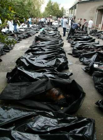 жерты теракта в Беслане, 2004 год