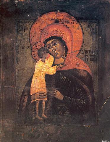 Икона Богоматери Взыскание погибших, Бессарабия, 15 век