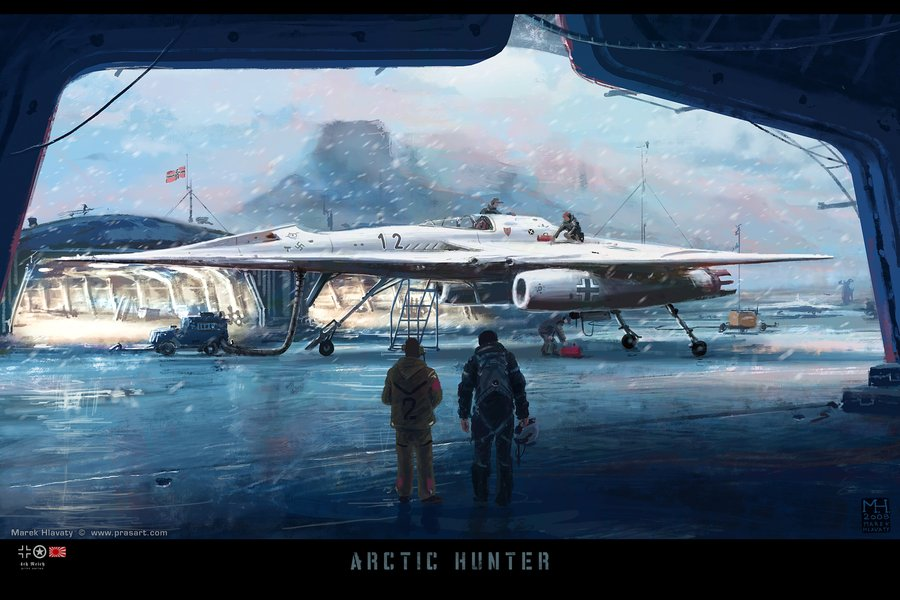 Arctic_Hunter_by_Prasa