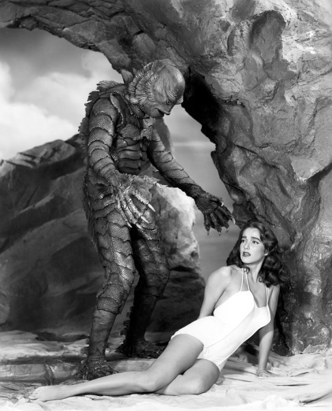 Julie-Adams-and-the-Creature-From-the-Black-Lagoon