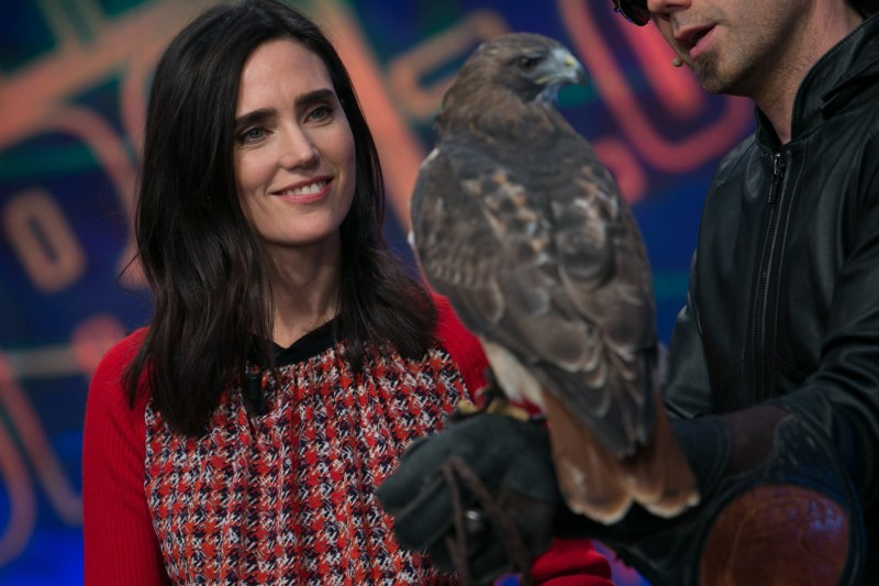 Thursday-Jennifer-Connelly-filmed-episode-El-Hormiguero