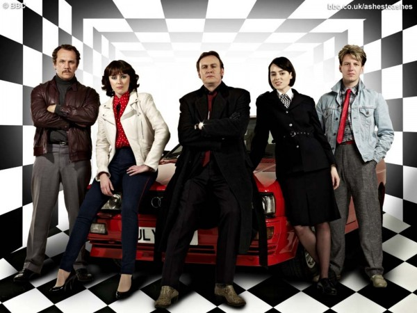 Ashes to Ashes S2 cast shot