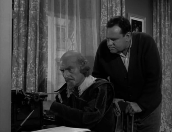 The Twilight Zone's William Shakespeare & Typewriter
