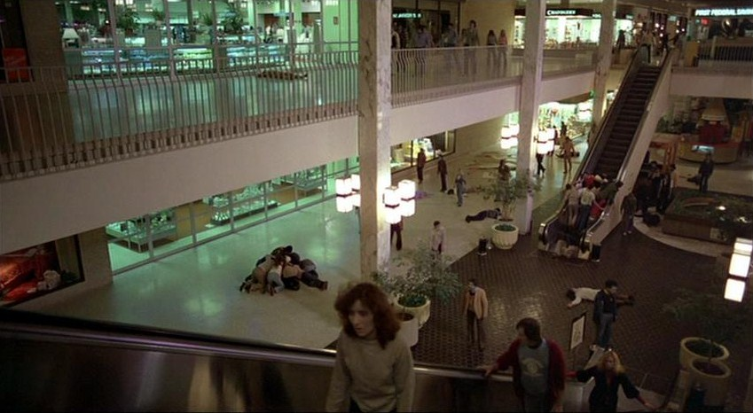 summary shopping mall and zombie effect
