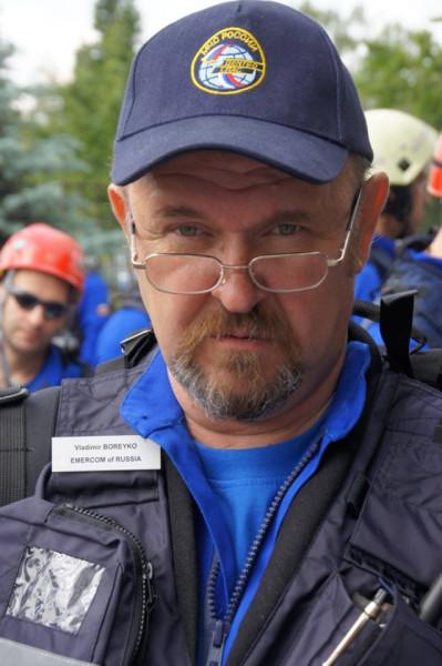 Владимир Борейко. МЧС
