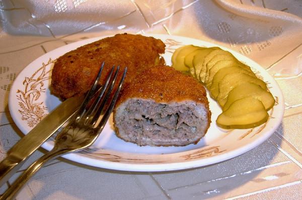 Котлета по донбасски рецепт с фото
