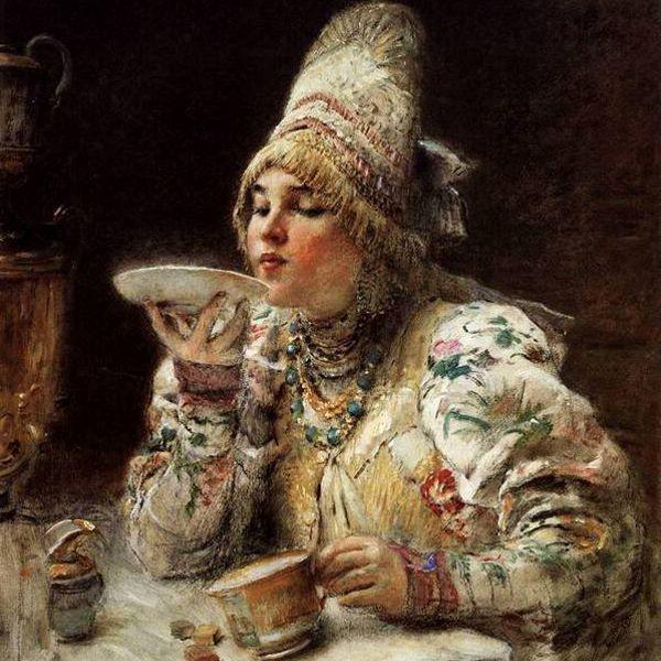 Какчайстал любимым напитком урусских