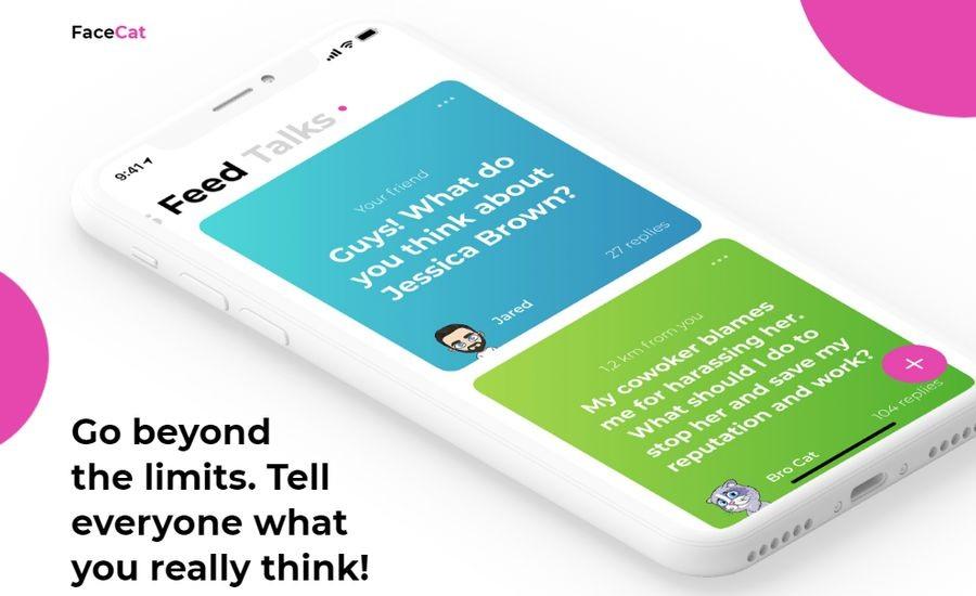 FaceCat: Новый отечественный и анонимный мессенджер