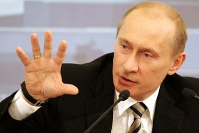 Putin grabs