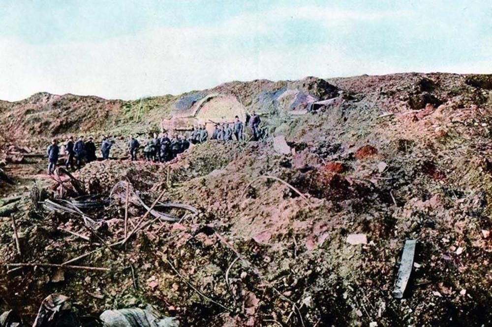 Немецкий фронт 1914-1918 гг
