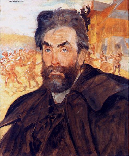 MalczewskiJacek.1897.PortretStanislawaWitkiewicza