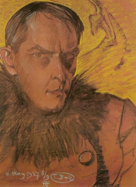 Witkacy-Autoportret_1927