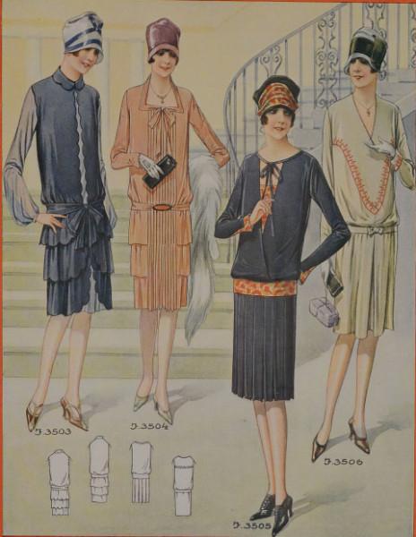 мода 1927