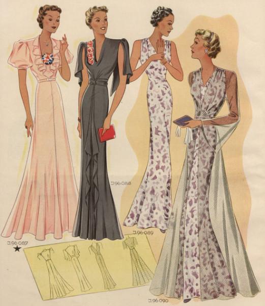 мода 1937 1