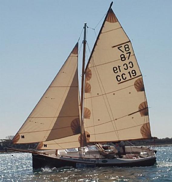 Cape Cutter 19. Конструктор - Dudley Dix.