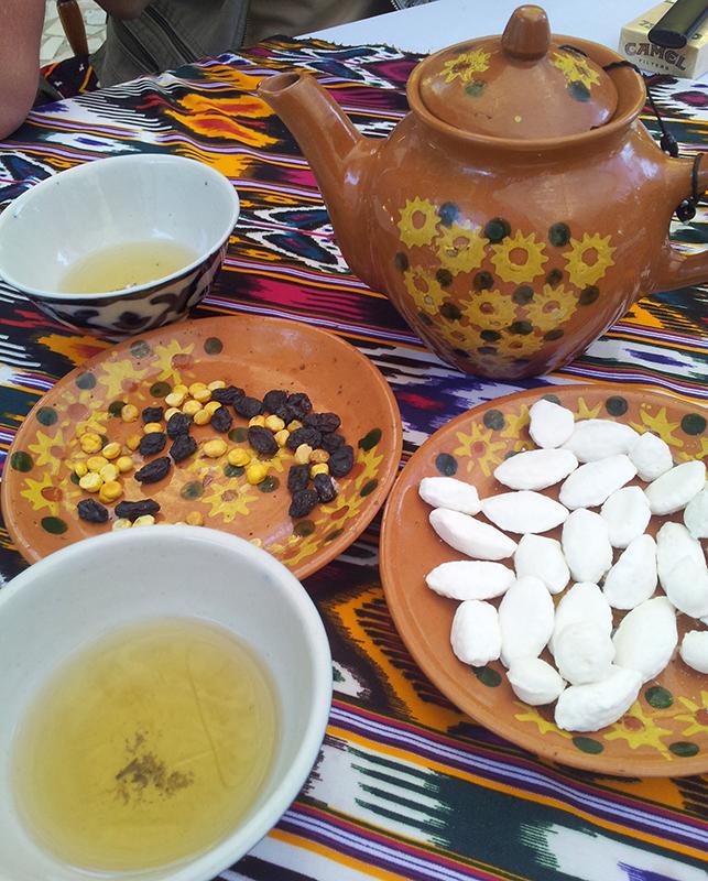 чай с конф