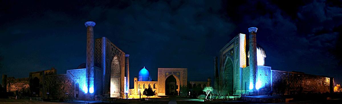 Регистан_ночь