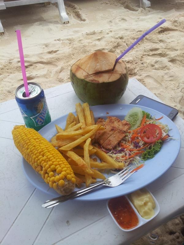 еда_пляж