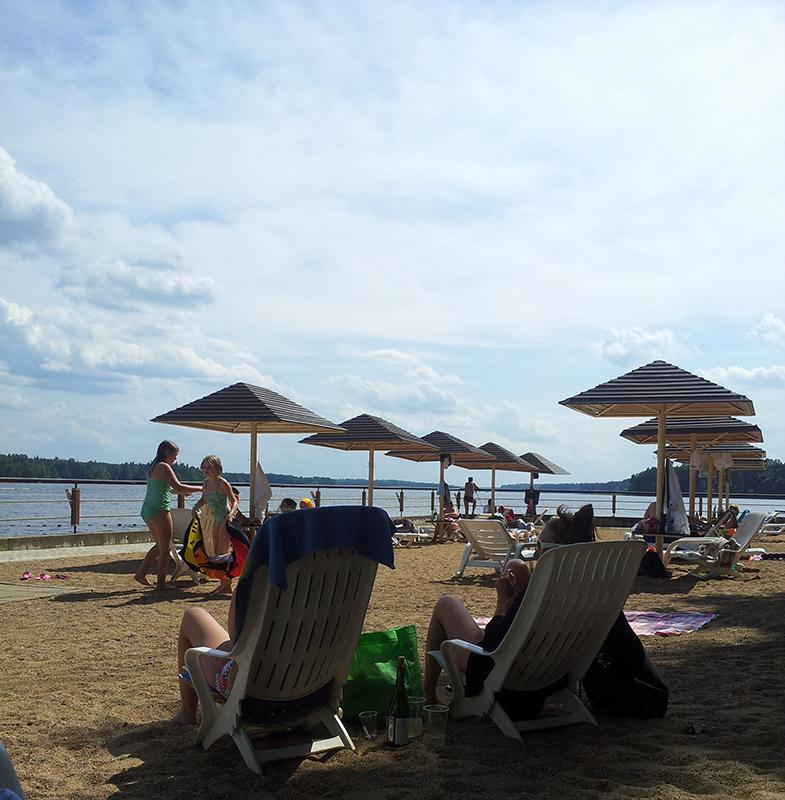 пляж_истра