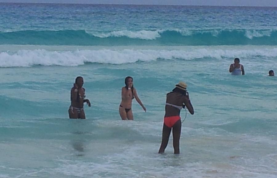 пляж_негритянки