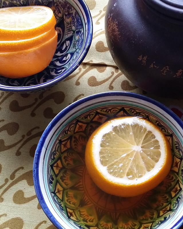 лимон_чай