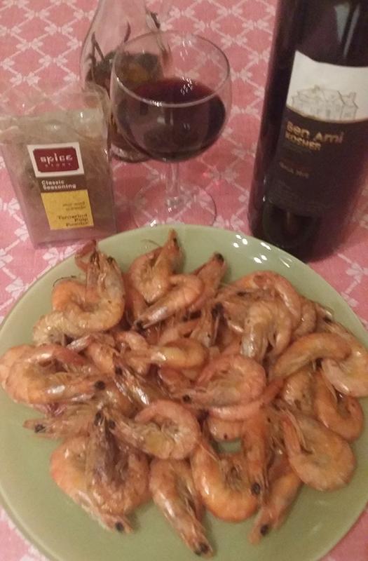 ужин с вином