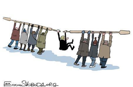 Рабы на галерах.