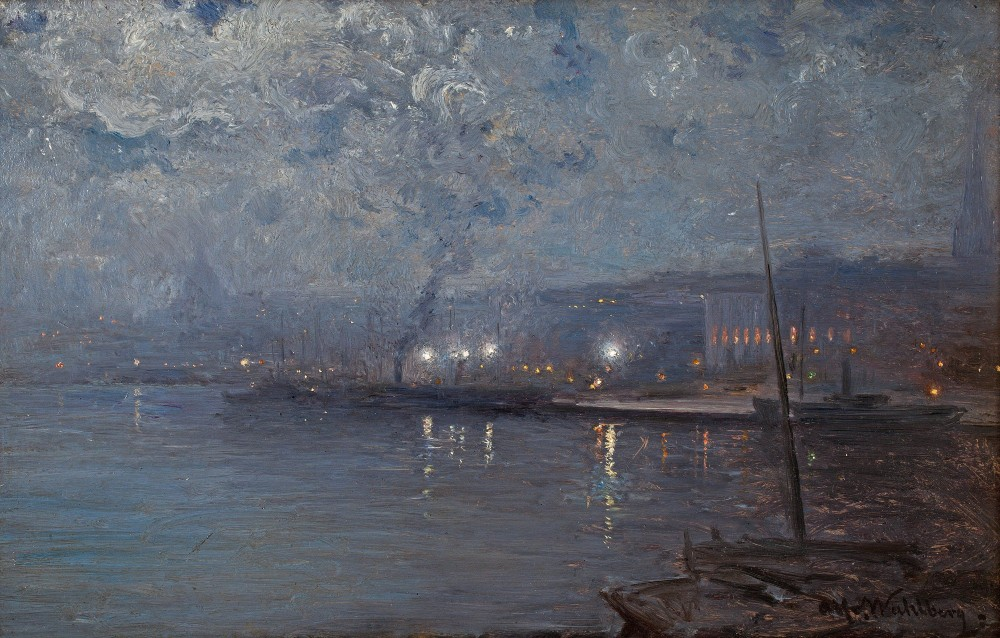 Alfred Wahlberg - STOCKHOLM BY NIGHT (Стокгольм ночью)