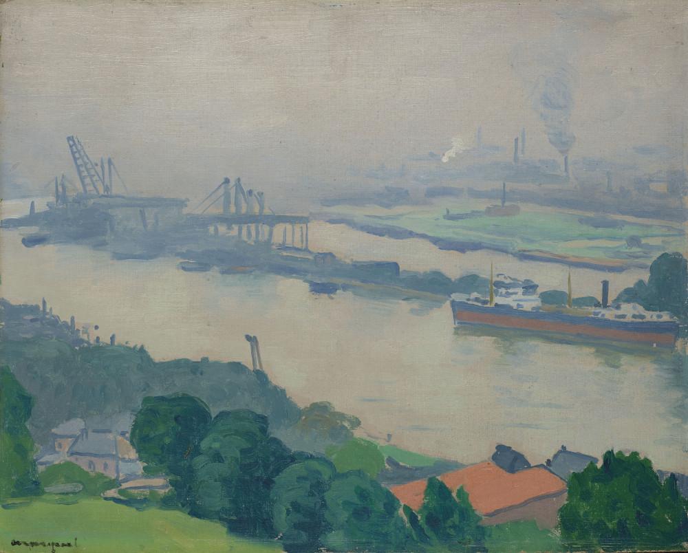 Albert Marquet (1875-1947) La Seine à Croisset (près de Rouen)