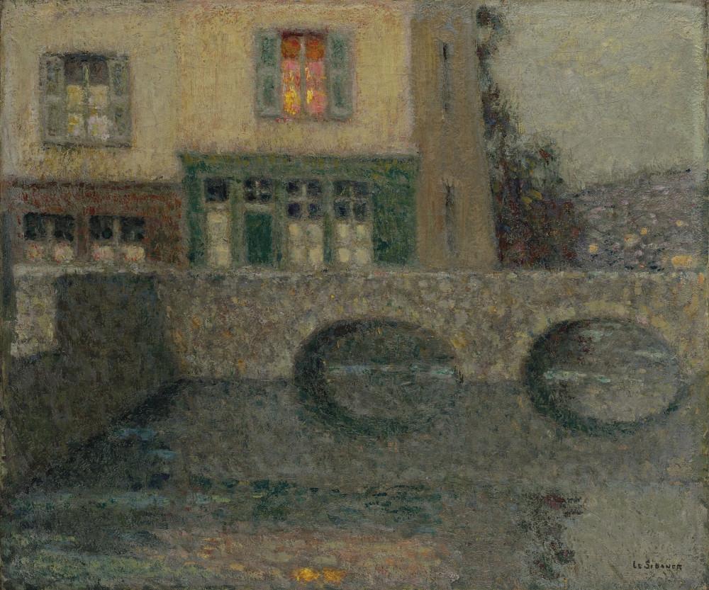 Henri Le Sidaner (1862-1939) Le Pont