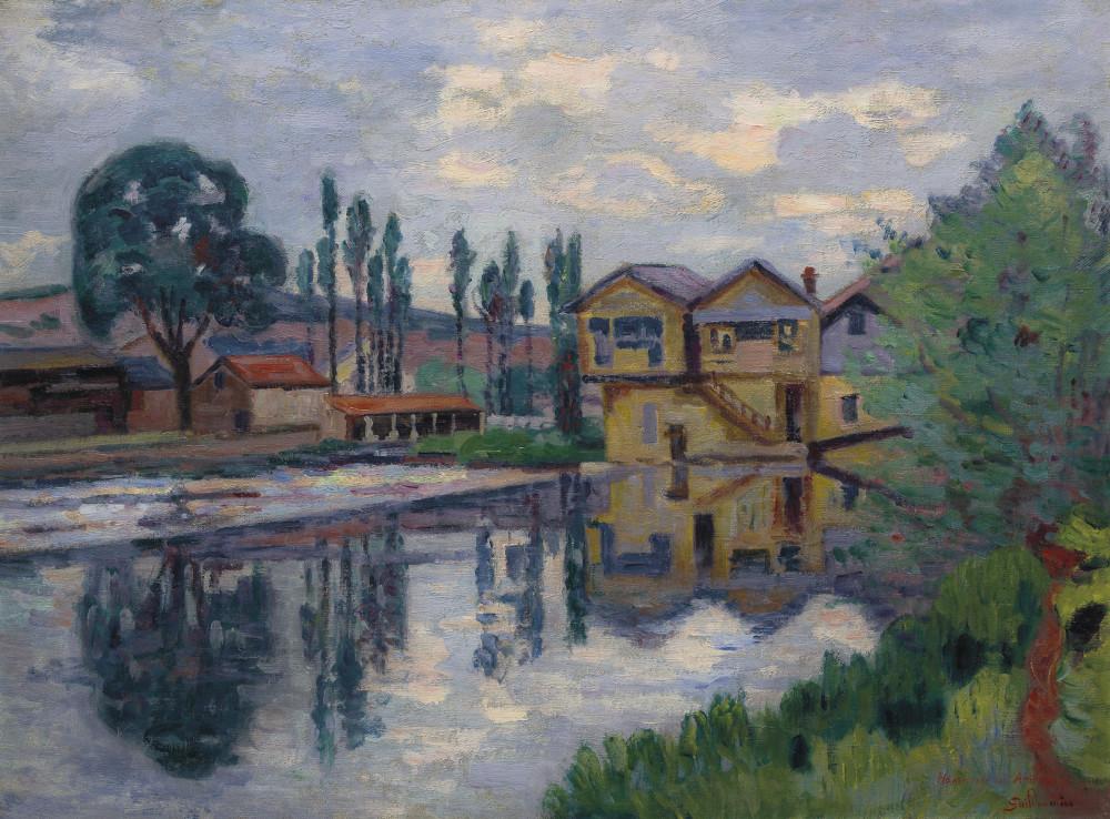 Armand Guillaumin (1841-1927) La scierie de Poitiers