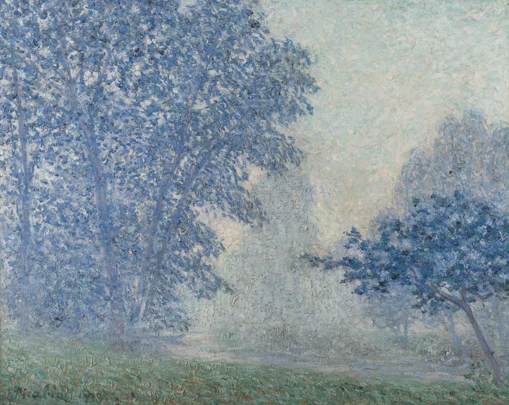 Francis  Picabia (1879-1953) Lever du soleil dans la brume, Montigny