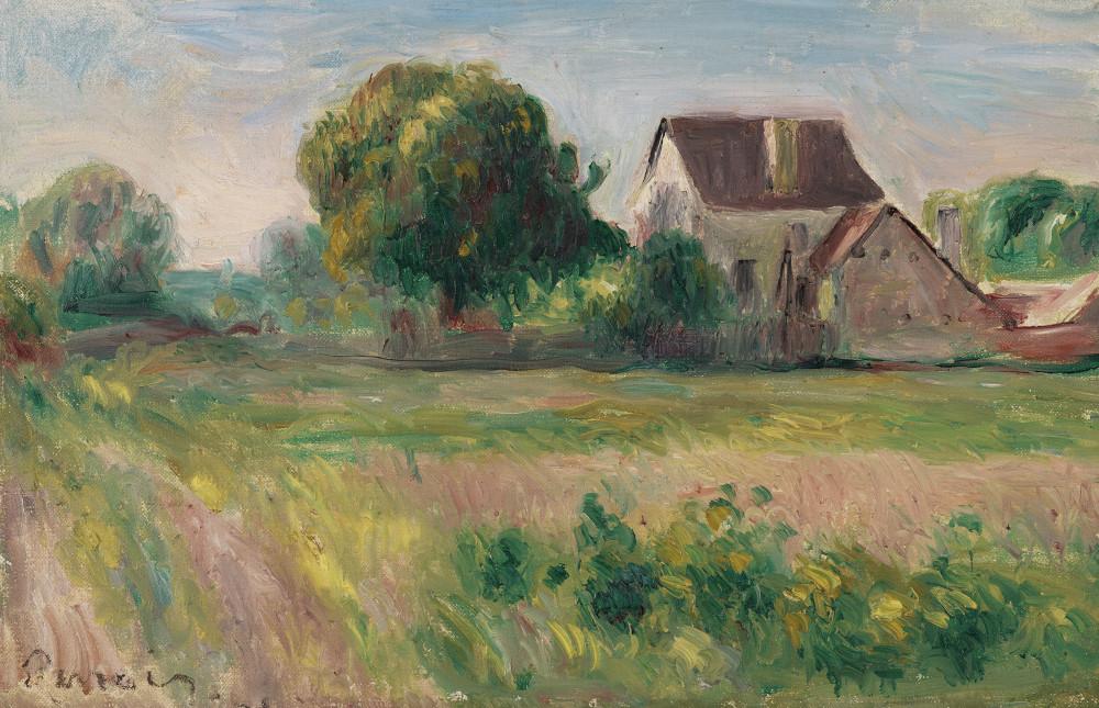 Pierre-Auguste Renoir (1841-1919) Maisons à Essoyes