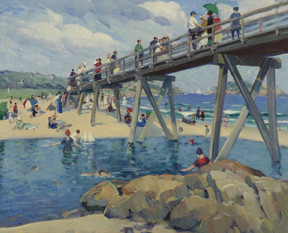 Good Harbor Beach,  Gloucester, 1912 (Sotheby's, 2011)