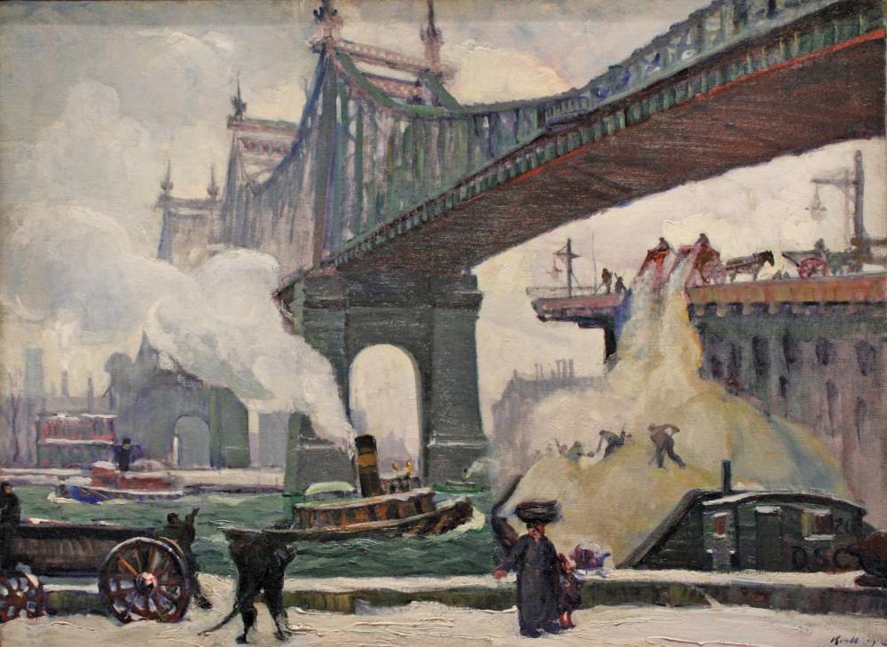 Leon Kroll Queensborough Bridge, 1912