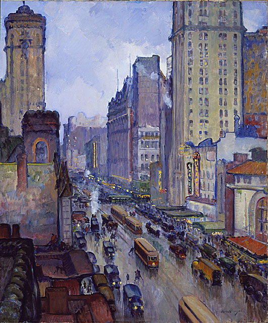 Broadway and 42nd Street, New York - 1916
