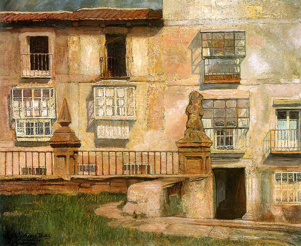 Игнасио Сулоага. Дома Сеговии
