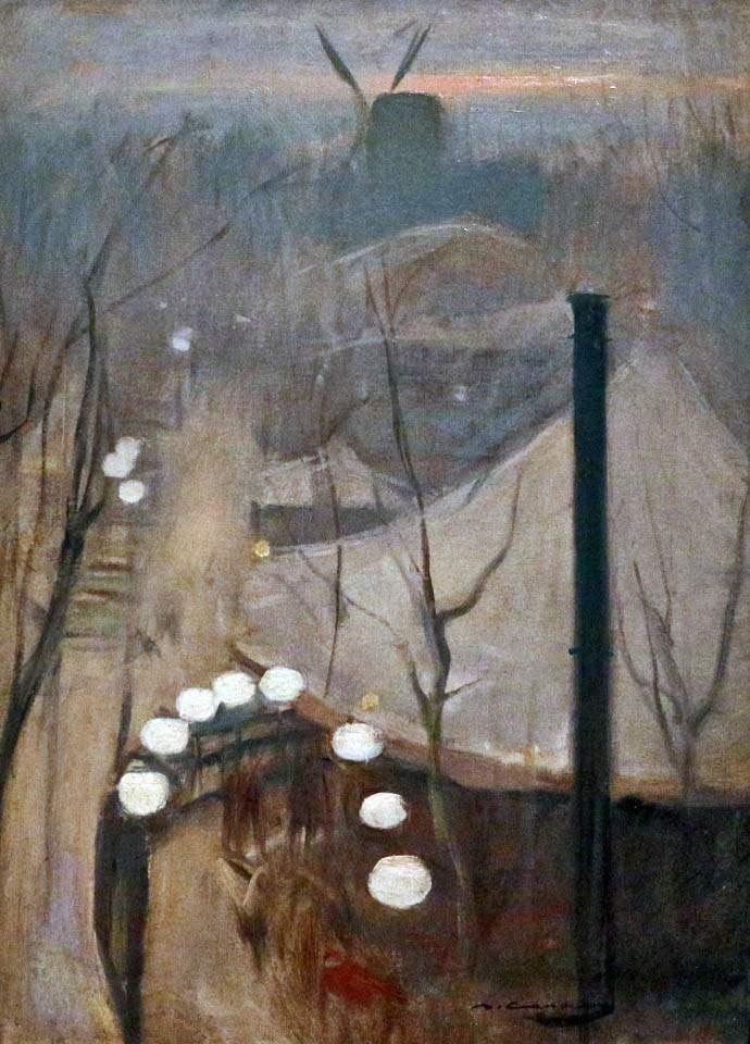 Рамон Казас. Монмартр. 1890-91