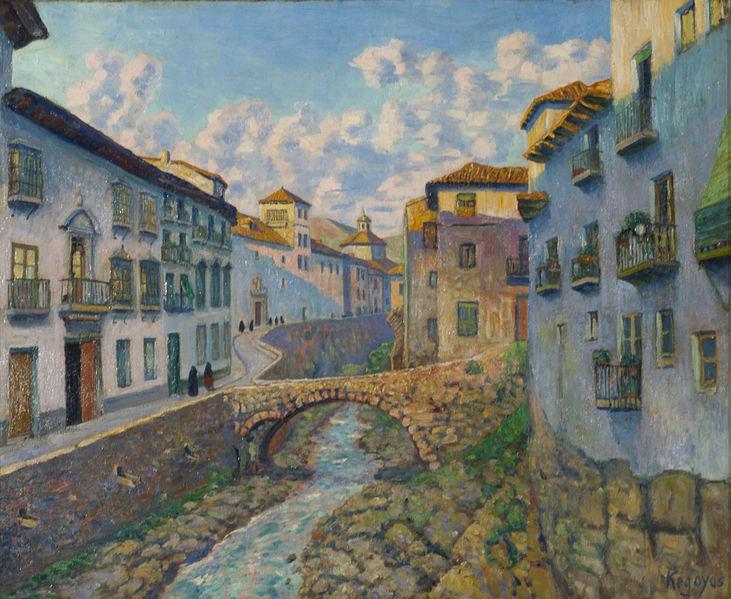Автор: Дарио де Регойос и Вальдес