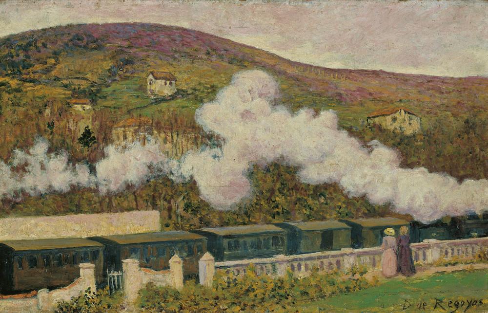 Дарио де Регойос и Вальдес - Прохождение поезда